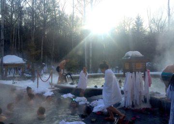 Northern China thermal bath