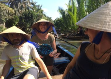 mekong tour with colligues