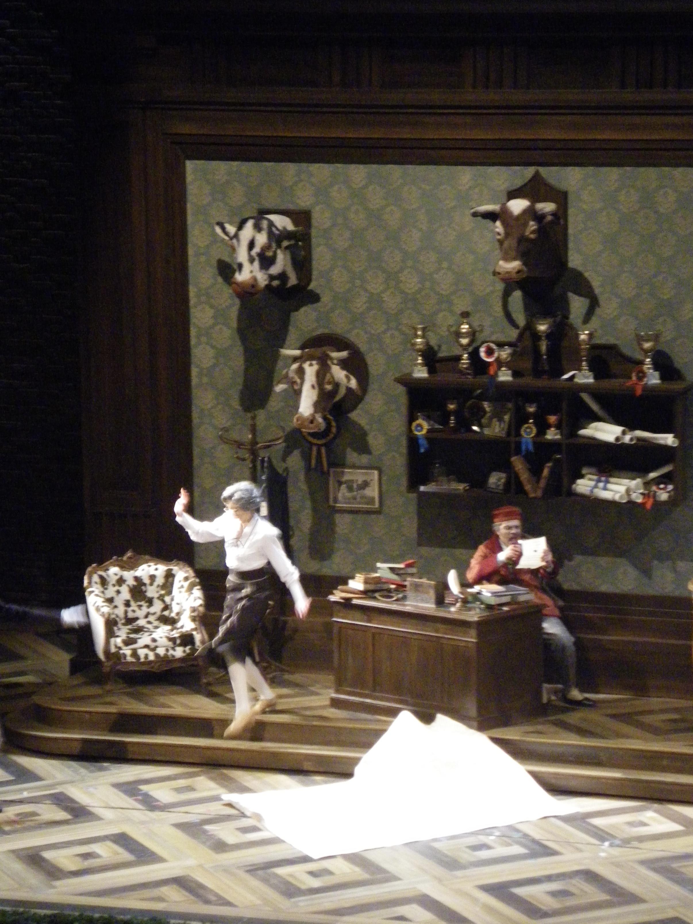 """Stage shot from """"La cambiale di matrimonio"""""""