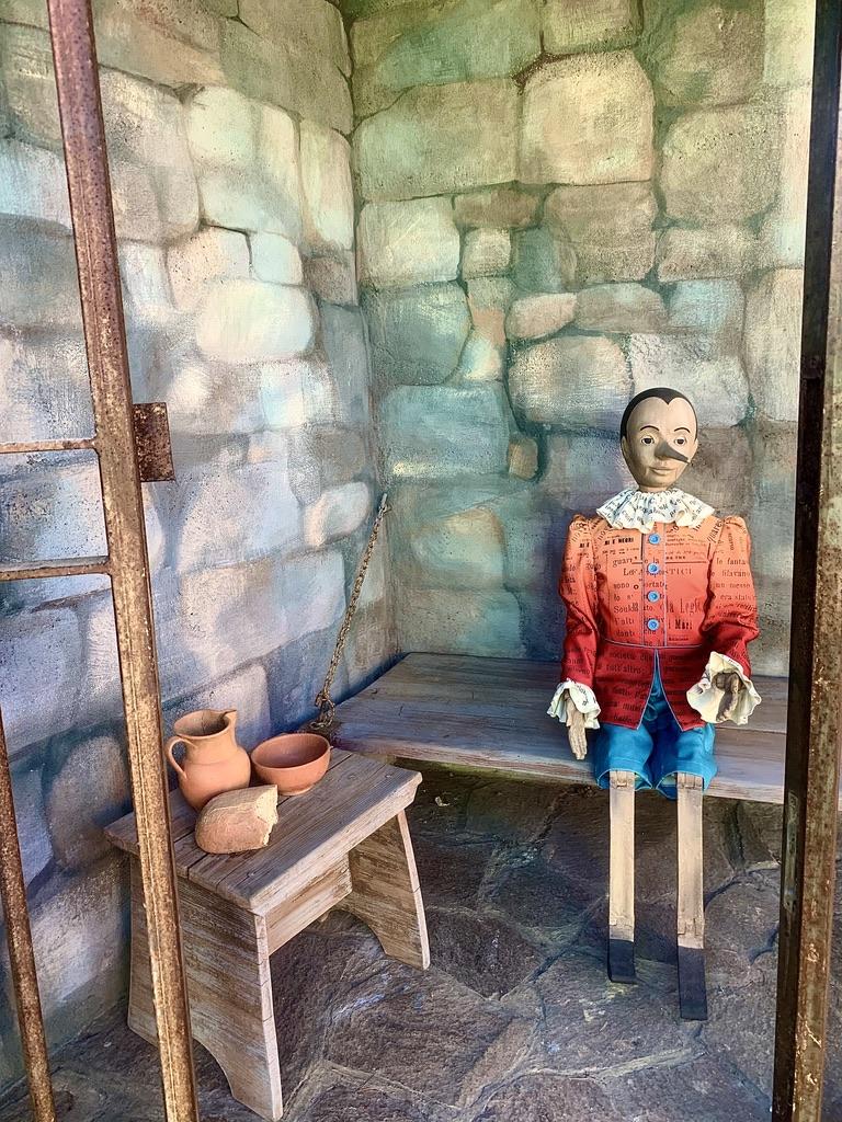 pinocchio in the prison
