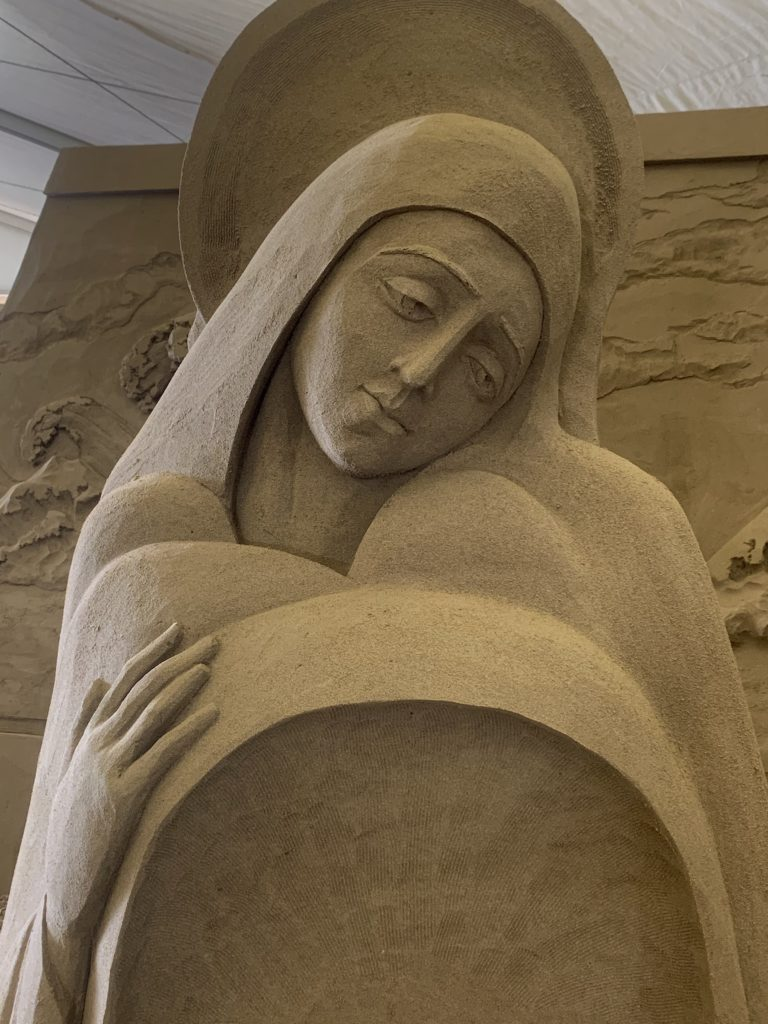 detail from Mary