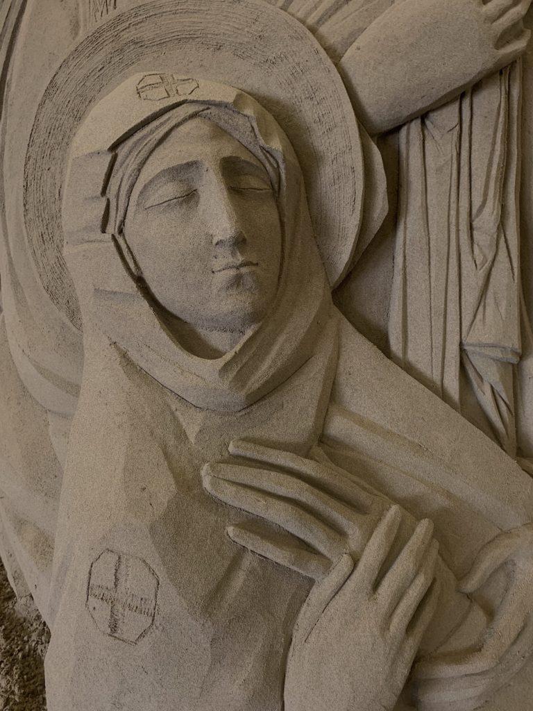 Mary russian icon from Yatskiv Lyuba