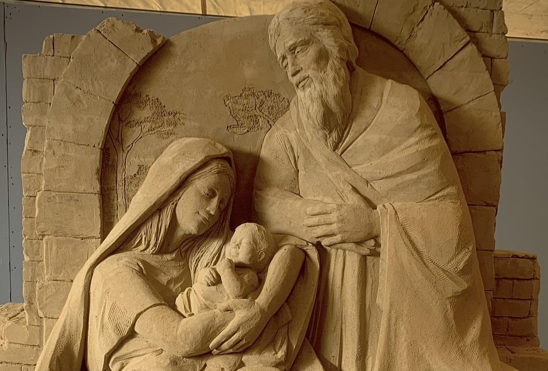 evidenza detail of nativity