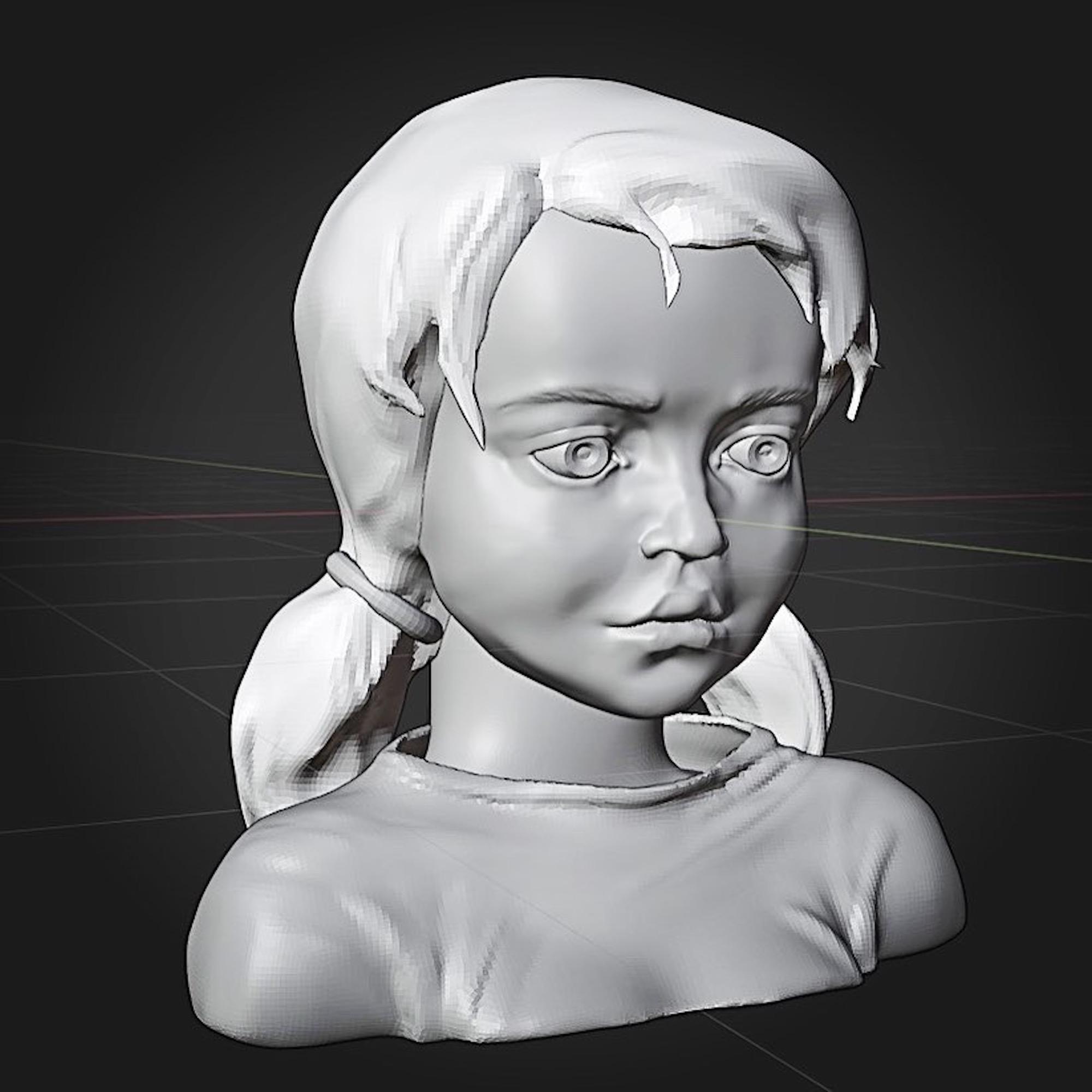 eva 3d sculpting