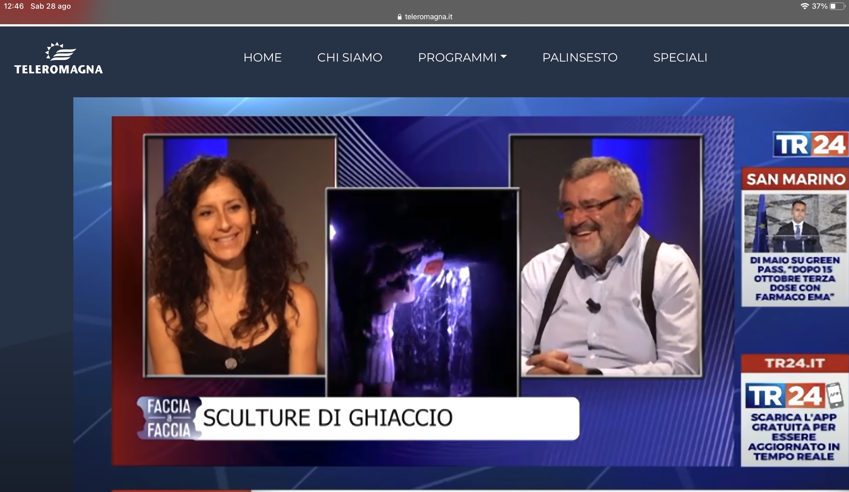 interview teleromagna
